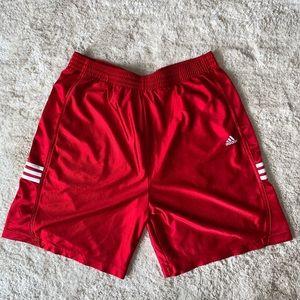 Adidas Red Basketball shorts